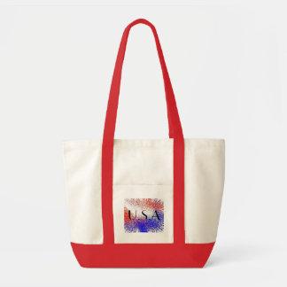 USA Splash Tote Bag
