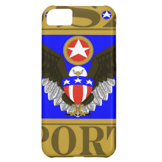 USA Sports Blue.png iPhone 5C Cover