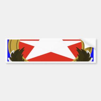 USA Sports Blue template.png Bumper Sticker