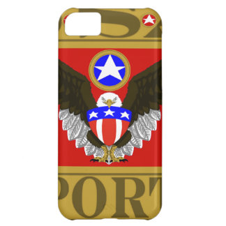 USA Sports Red.png iPhone 5C Cover