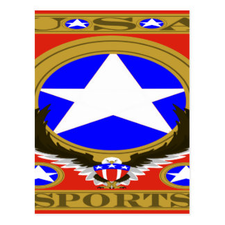 USA Sports Red template.png Postcard