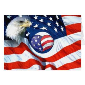 USA-Spread the love_ Greeting Card