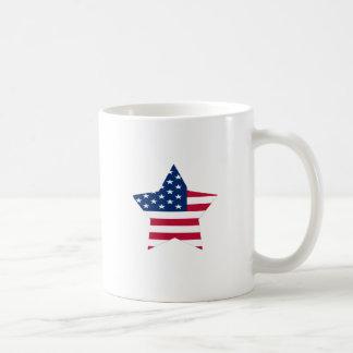 USA Star American Flag Mugs
