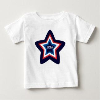 USA Star Baby T-Shirt