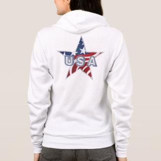 USA Star Hoodie