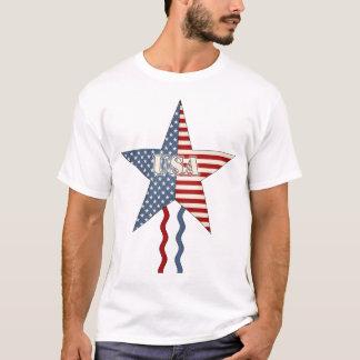 USA Star & Streamers T-Shirt