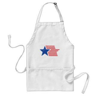 USA Star & Stripes Adult Apron