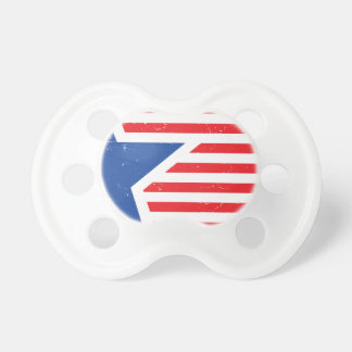 USA Star & Stripes Pacifiers
