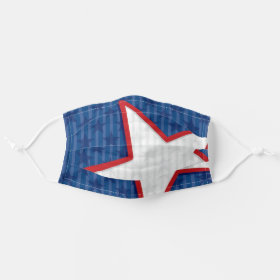 USA Stars and Stripes American Patriotic Cloth Face Mask