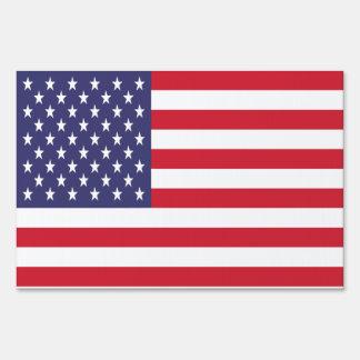 USA Stars and Stripes Flag Sign