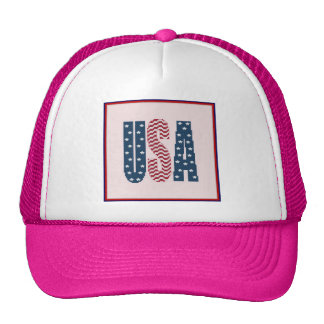 USA Stars and Stripes Hat