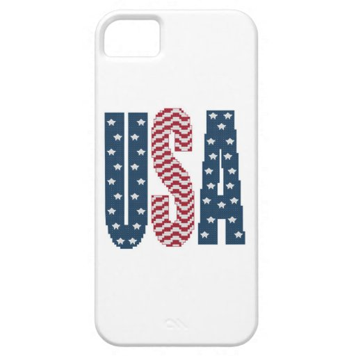 USA Stars and Stripes iPhone 5 Case