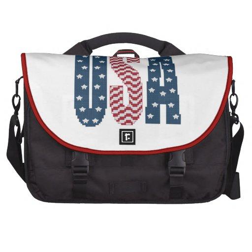 USA Stars and Stripes Laptop Bag