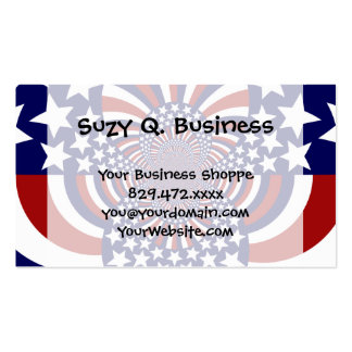 USA Stars and Stripes Patriotic Design Business Card Templates