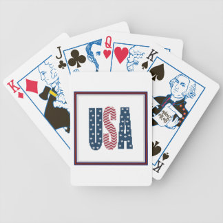 USA Stars and Stripes Playing Cards