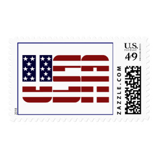 USA Stars and Stripes Stamps