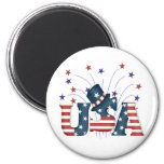 USA Stars and Stripes T-shirts and Gifts Magnet