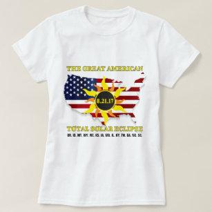 730270cb Oregon Eclipse T-Shirts - T-Shirt Design & Printing | Zazzle