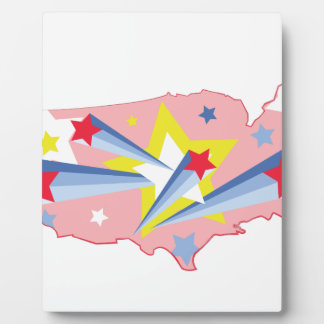 USA Stars Plaque