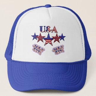 USA Stars Trucker Hat