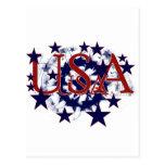 USA Stars Tshirts and Gifts Postcard