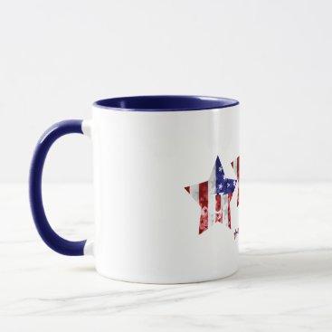 USA Stars Vintage Mug