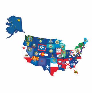 USA States Statuette