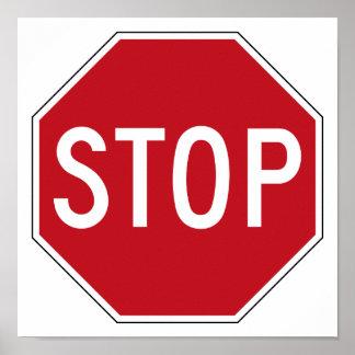 USA Stop Sign