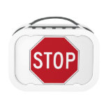 USA Stop Sign Lunch Box