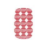 USA Stop Sign Minx ® Nail Wraps