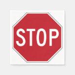 USA Stop Sign Paper Napkins