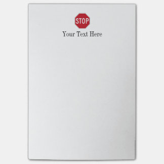 USA Stop Sign Post-it® Notes