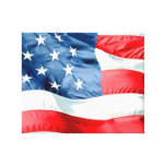 USA STRETCHED CANVAS PRINT