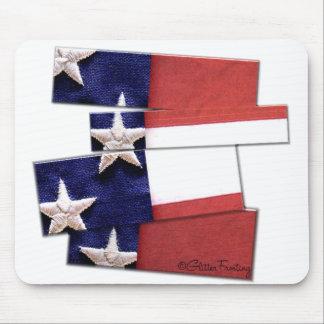 USA Strips Mouse Pad