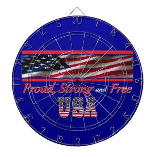 USA Strong Dart Board