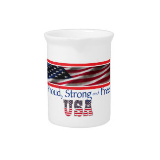 USA Strong Drink Pitchers