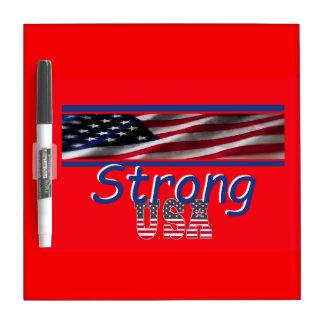 USA Strong Dry-Erase Whiteboard
