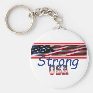 USA Strong Keychain