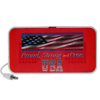 USA Strong Mini Speakers