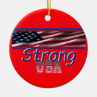USA Strong Ornament
