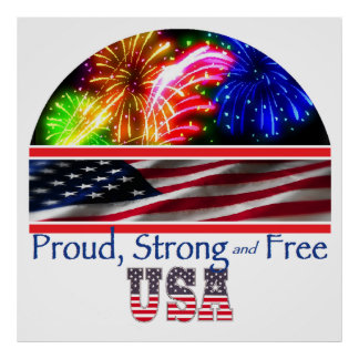 USA Strong Poster
