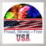 USA Strong Print