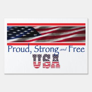 USA Strong Sign