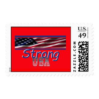 USA Strong Stamp