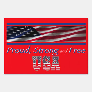 USA Strong Signs