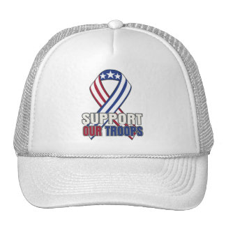 USA Support Our Troops Hats
