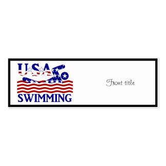 USA Swimming Business Card