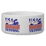 USA Swimming Dog Bowl