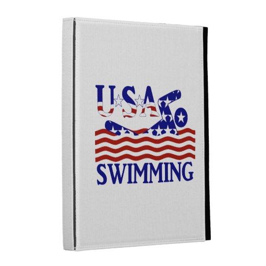 USA Swimming iPad Folio Covers
