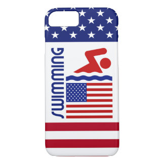 USA Swimming iPhone 7 Case